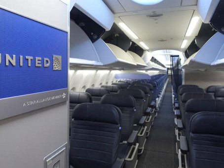 United Adds Antimicrobial Spray to Already Extensive Cabin-Cleaning Measures