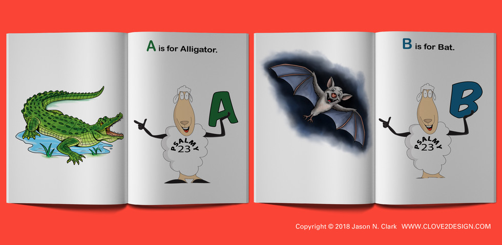 Psalmy and the Animal Alphabet Book