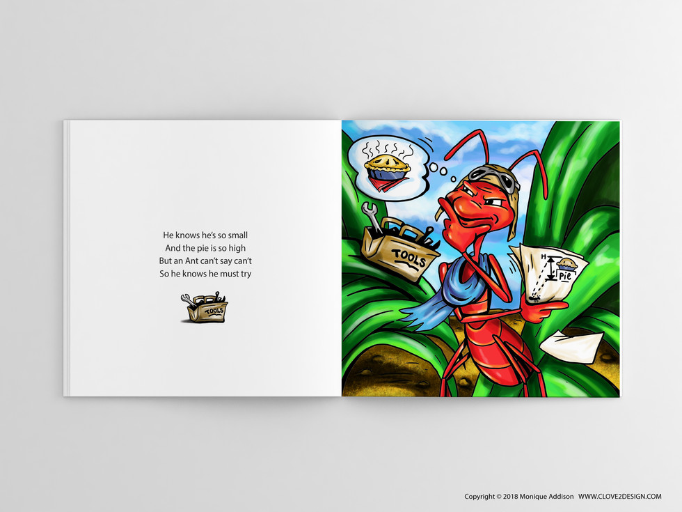 An Ant Can't Say Can't (children's book)