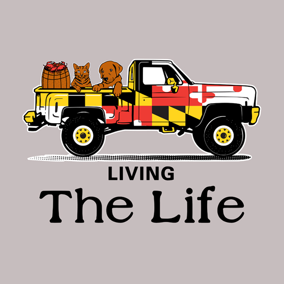 Living The Life (Adobe Illustrator)