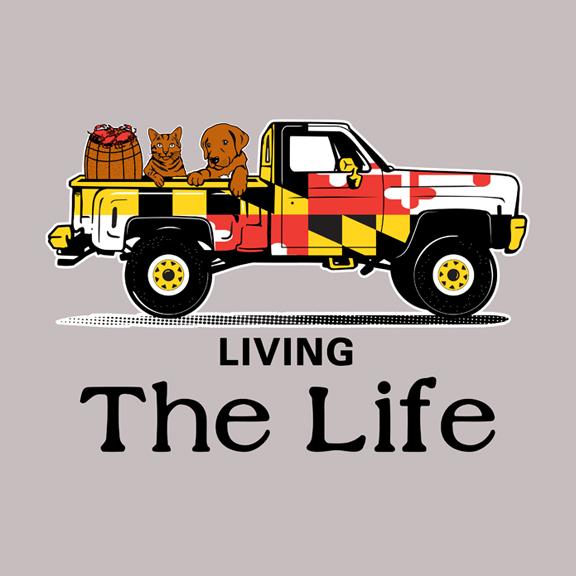 Living The Life (Adobe Illustrator)