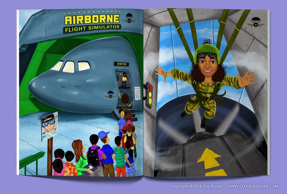 Girls Wear Combat Boots Too (children's book)
