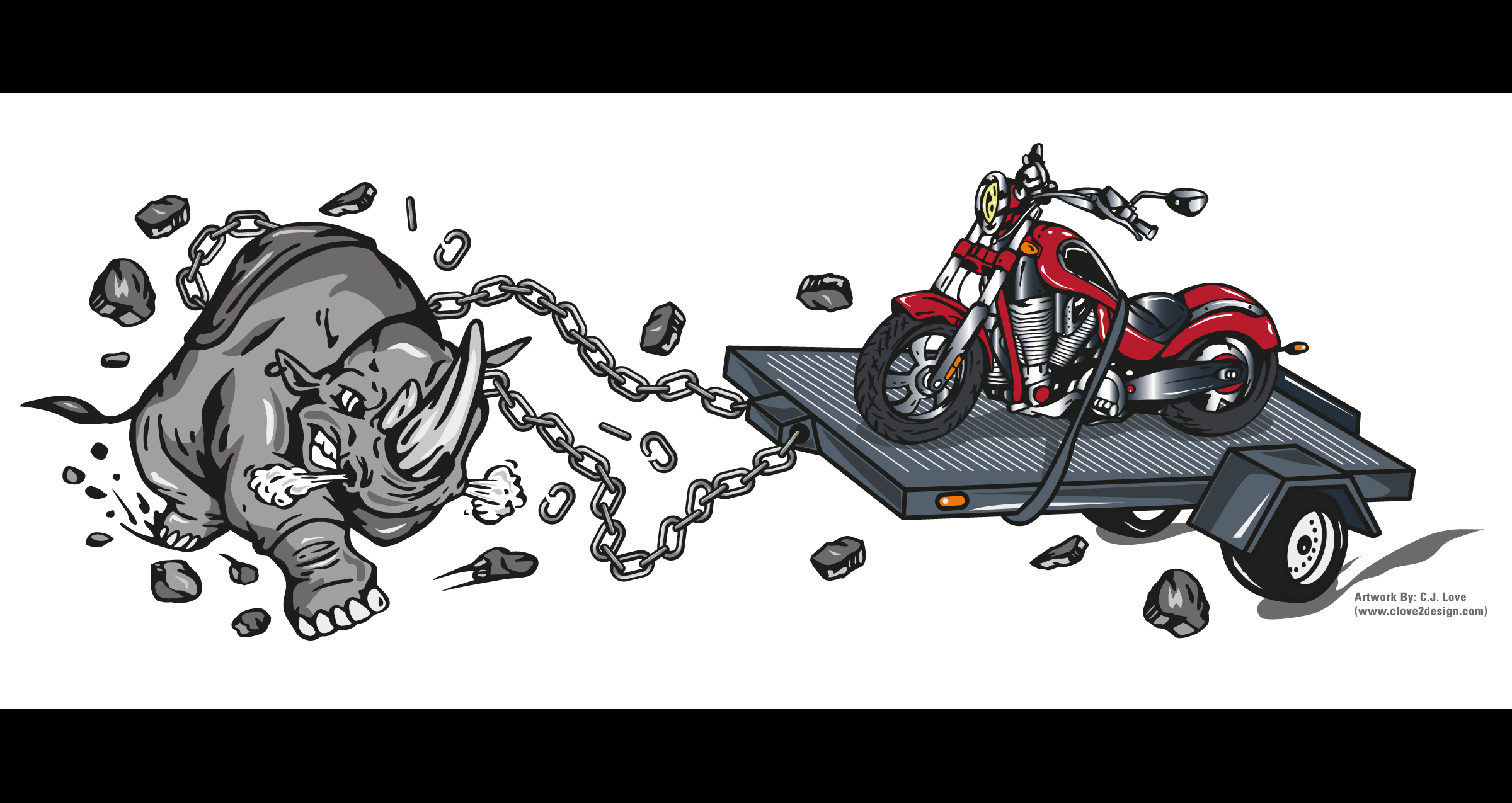 Motorcycle Towing Design