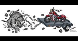 Motorcycle Towing Design