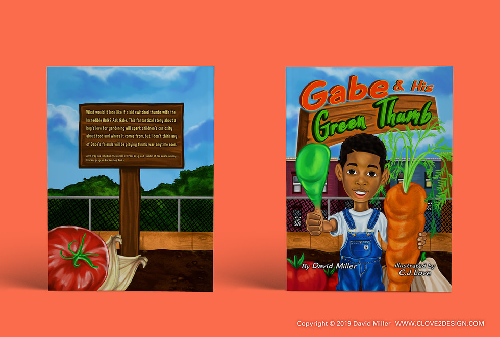 Gabe & His Green Thumb (children's book)
