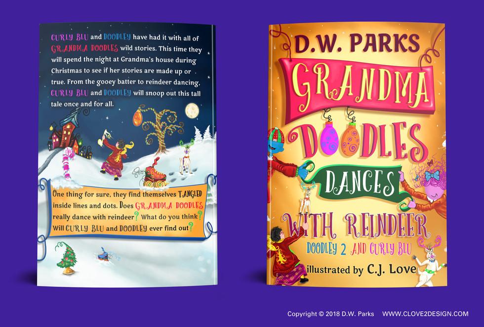 Grandma Doodles Dances with Reindeer (children's book)