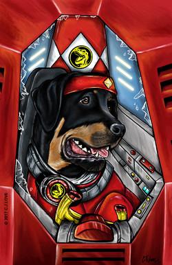 Red Ranger (Rottweiler)