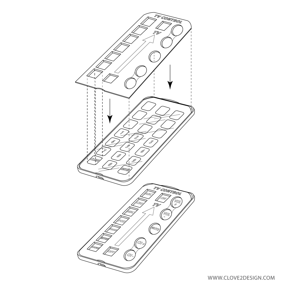 TV Remote (Case Design)