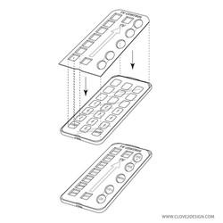 TV Remote (Case Design)