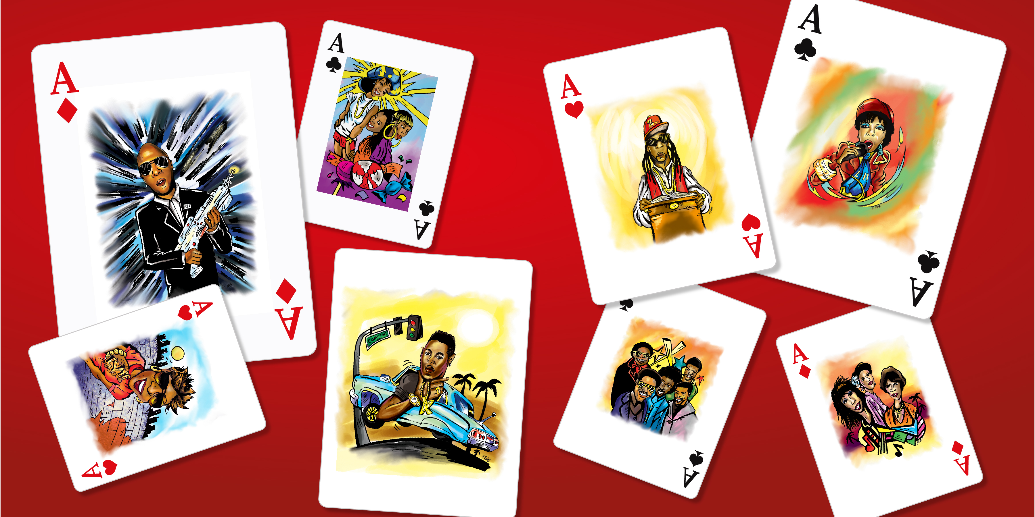 Music Artists (Playing Cards)