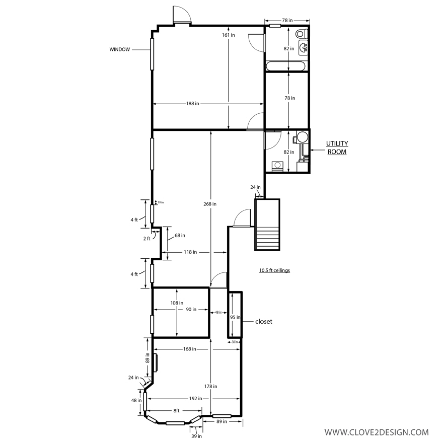2D Floor Plan Design & Drawing