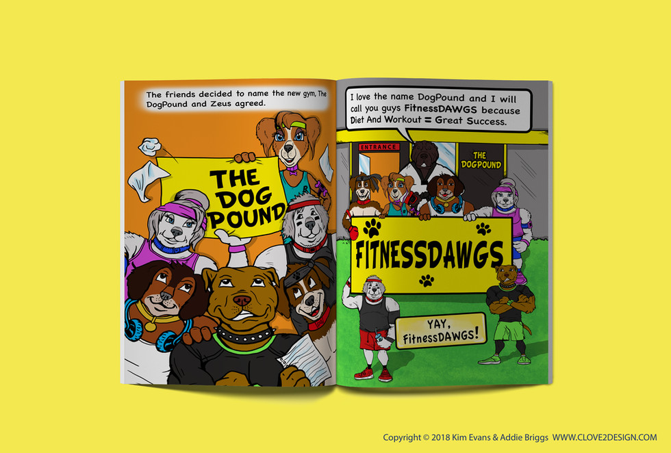 The FitnessDAWGS (children's book)