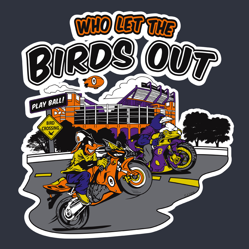Who Let the Birds Out! (Adobe Illust