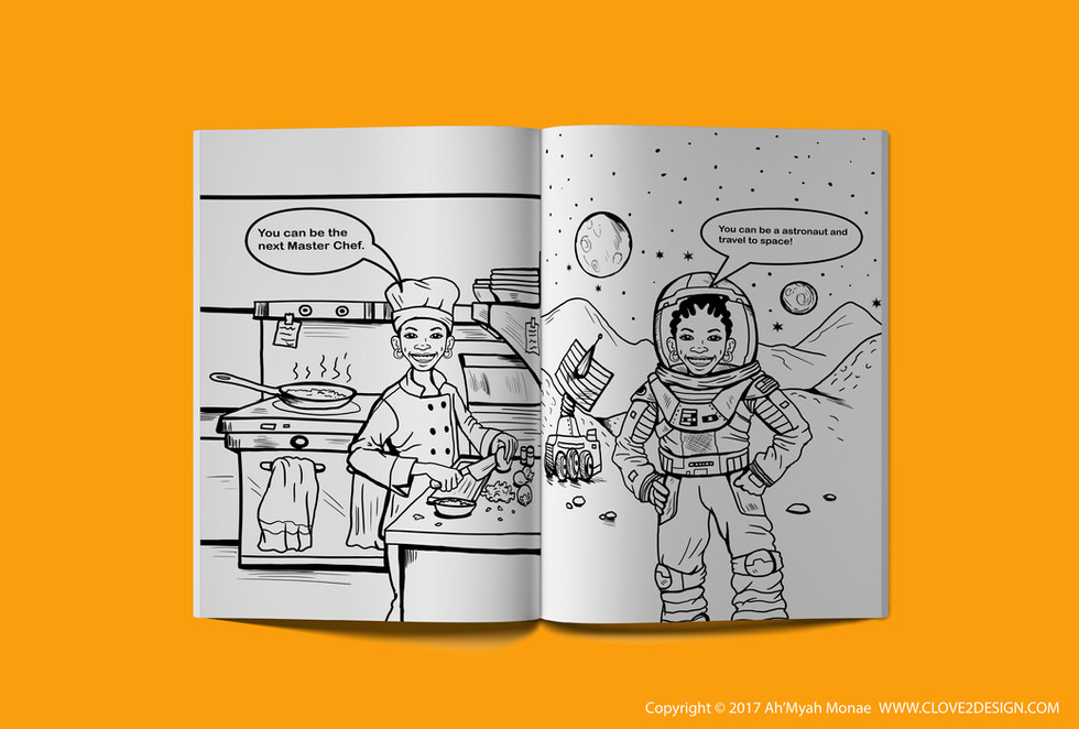 You Can Be Anything You Want To Be! (Coloring Book)