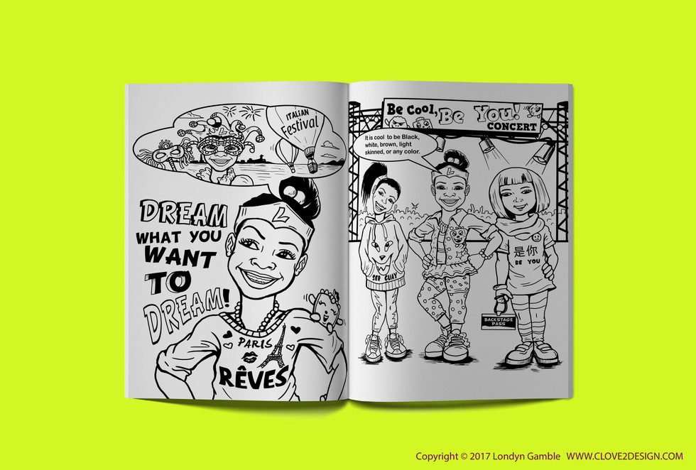 Be Cool Be You (Coloring Book)