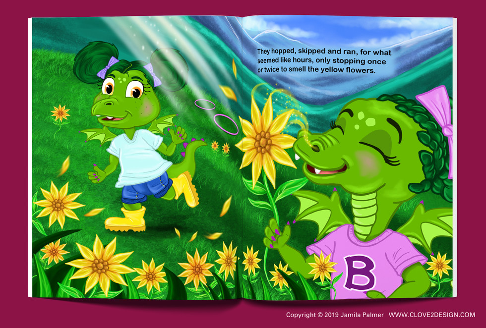 Bebe The Dragon Fell Off Her Wagon (children's book)