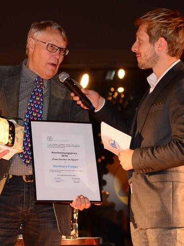 Reinhard Volger erhielt den Annerkennungspreis