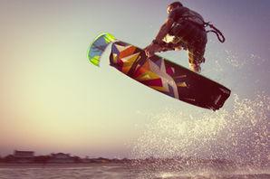 Best Kiteboard with Cabrinha kite