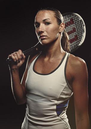 Wilson Tennis Girl Photoshoot Campaign