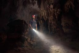 Puerto Rico Cave Tour Guide Composite Photography