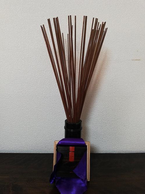 筮竹と黒檀算木