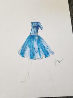 """The Blue Dress"""