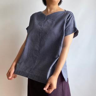 YUKATA fabric, tiny bamboo pattern