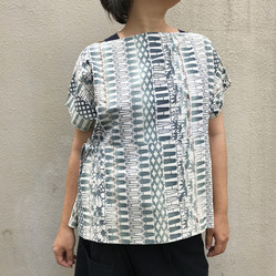 Pullover blouse, KIMONO makeover