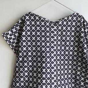 Made-to-order | YUKATA fabric, diamond-shaped basket pattern
