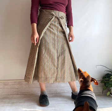 KIMONO fabric, Square cloth Skirt