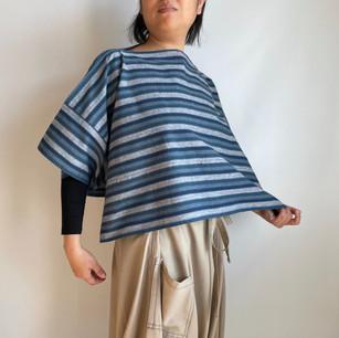 Regular item | MIKAWA Cotton, KATSUO Stripe,