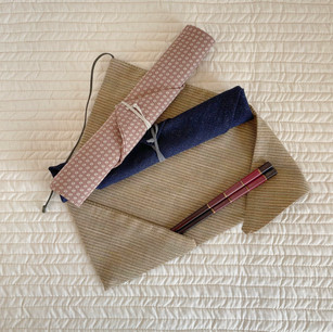 made of leftover KIMONO fabric