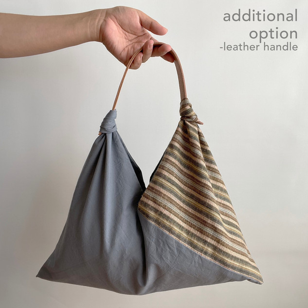 Leather handle: option