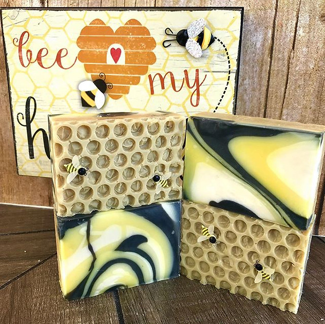 Bee My Honey Honeycomb Soap