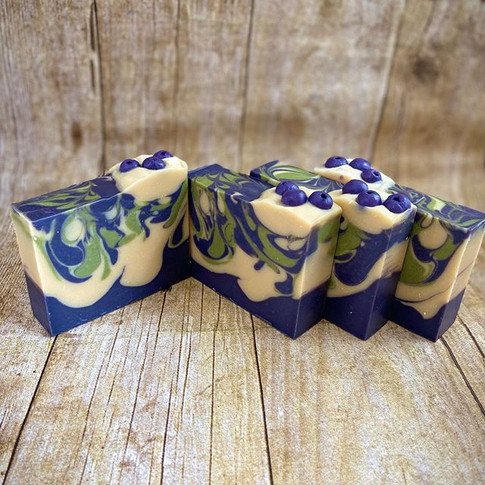 Blueberry + Thyme Soap