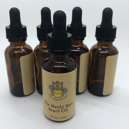 The Manly Man Beard Oil