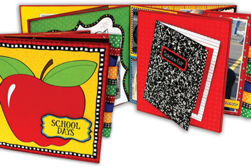 School Days Flap Book