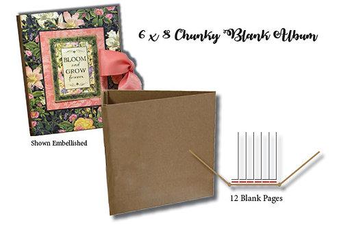 6x8 Blank Chunky Album