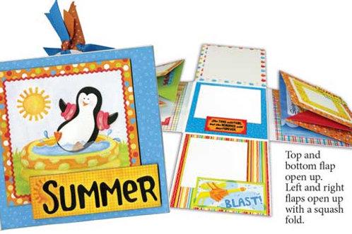 Summer Fun Pocket & Tag Album