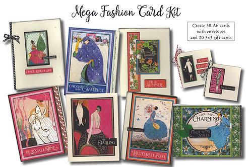 OOAK Mega Fashion Calendar Card Kit