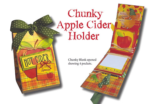 Chunky Apple Cider Pocket Holder