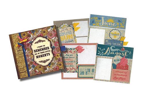 Authentique Monthly Calendar Album