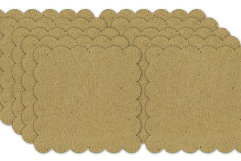Scallop Chipboard Blanks