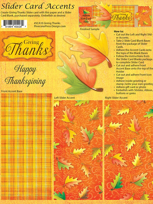 Giving Thanks  SCA10