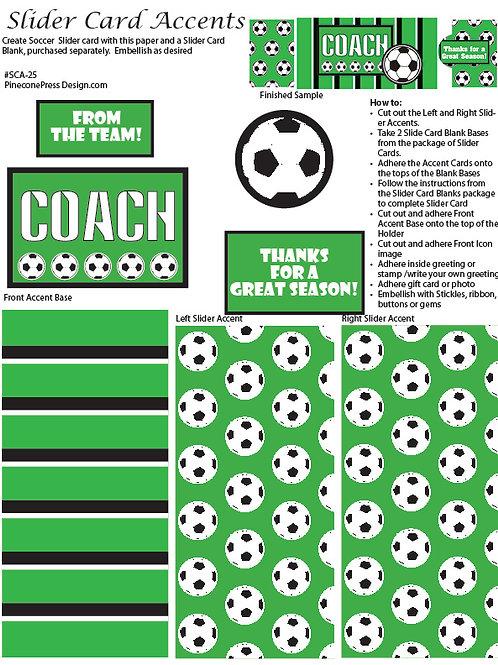Soccer Slider Accent paper