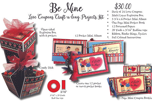 Love Coupons Projects kits
