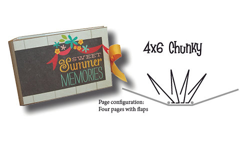 4x6 Blank Chunky Album
