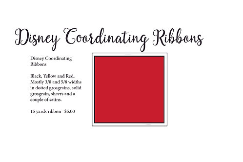 Disneyish Ribbons