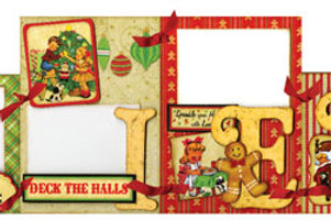 Believe Table Top Banner - Oh Merry Merry