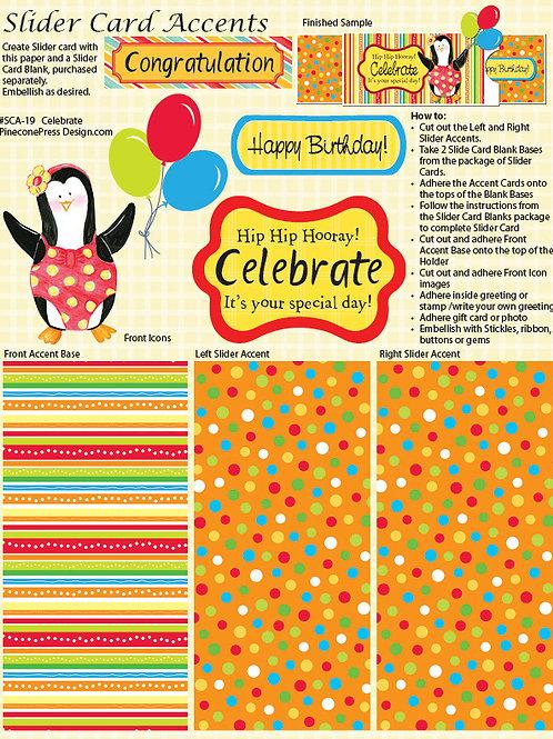 Celebrate Slider Accent Paper